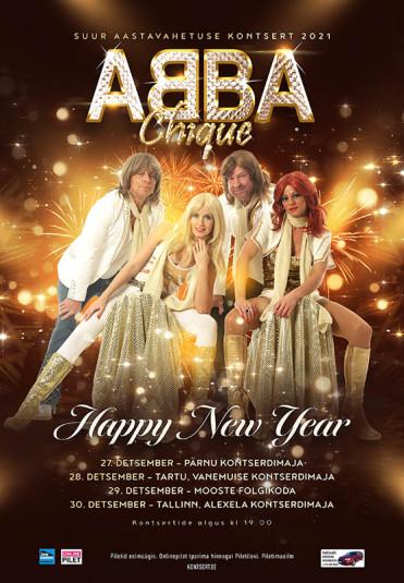 ABBA Chique - Suur aastavahetuse kontsert ''Happy New Year''